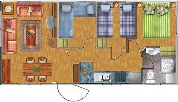planos de casas de 15x7