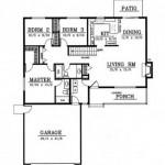 Planos de casas modernas de un piso y 3 dormitorios