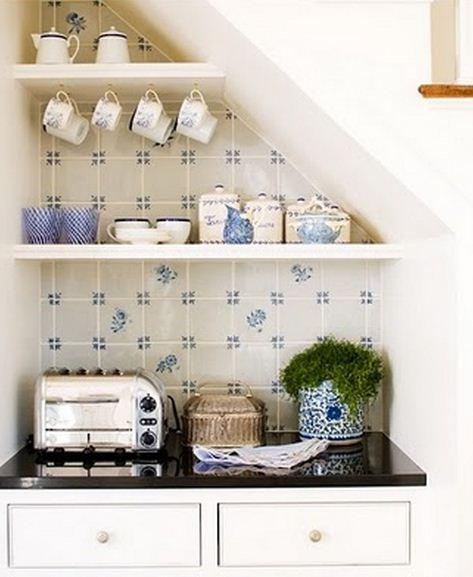 Consejos para aprovechar el espacio en casas peque as for Cocinas diminutas