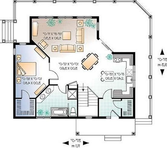 Planos de casas para construir for Planos para construir una casa de un piso