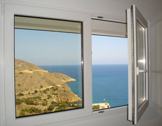 Tipos de ventana planos de casas modernas for Pvc o aluminio precios
