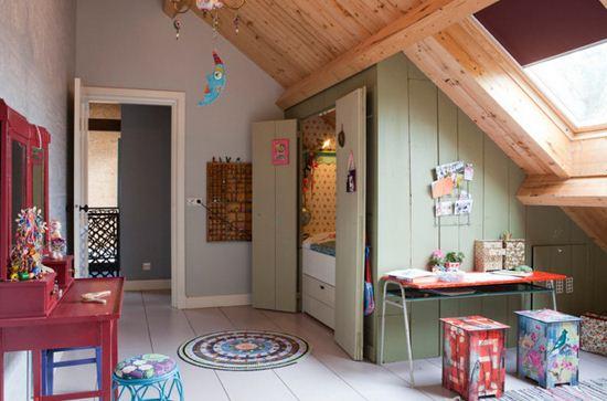 Cuarto con techo caido planos de casas modernas - Casas con buhardilla ...