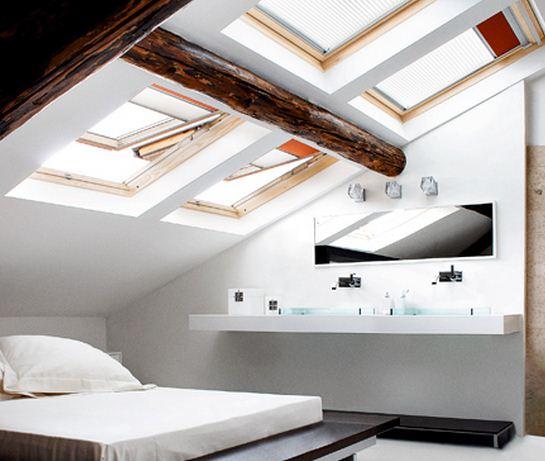 Cuarto con techo caido planos de casas modernas for Ventanas para techos planos argentina