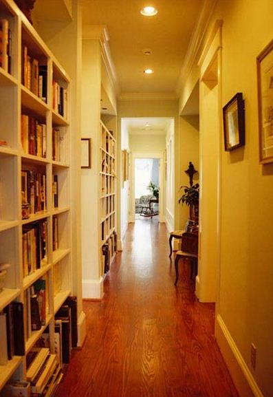 Como decorar pasillos estrechos y largos