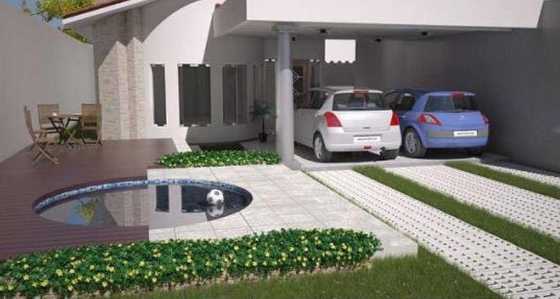 Planos de casas modernas de 3 dormitorios for Casa moderna 3 habitaciones
