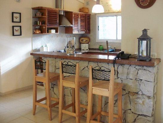 Barras desayunadoras modernas for Cocinas rusticas baratas