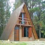 Casas alpinas planos