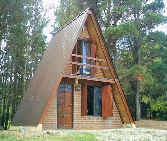 Casas alpinas diseños
