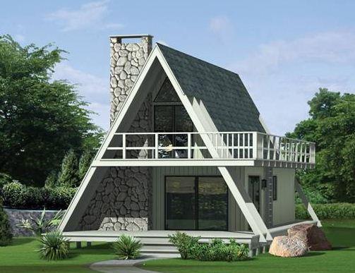 Como construir una casa alpina planos de casas for Cuarto 4x4 metros