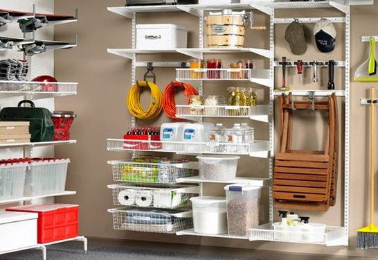 Consejos para mantener el orden en el hogar estanterias en el garage