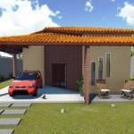 Planos de casas para terrenos de 10 x 25 m