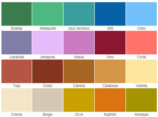 Carta de colores para fachadas de casas for De que color pintar la casa