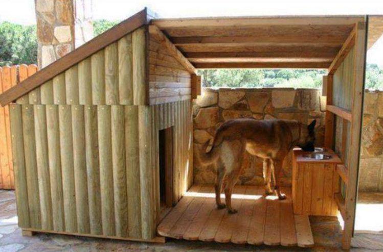 diseos de casas para perros grandes