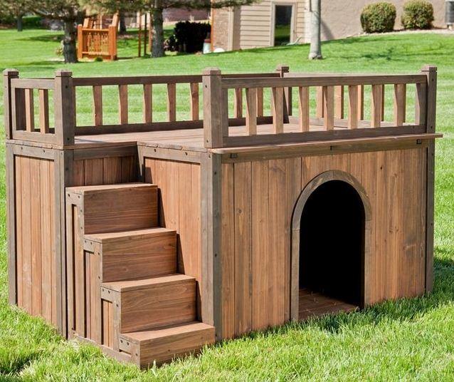 Dise os de casas para perros - Casa de perro grande ...
