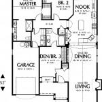 Plano de casa estilo americano