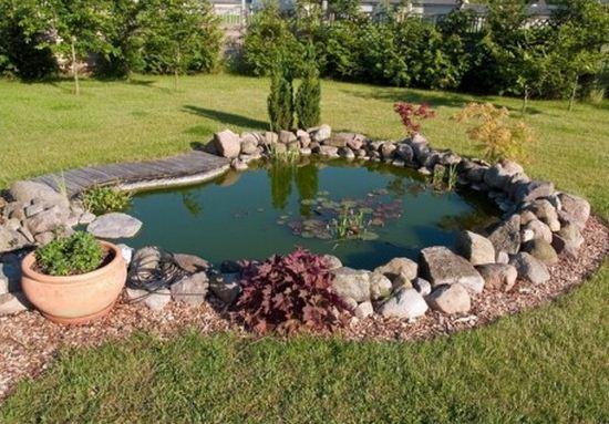 Como hacer un estanque en casa for Como hacer un jardin interior en casa