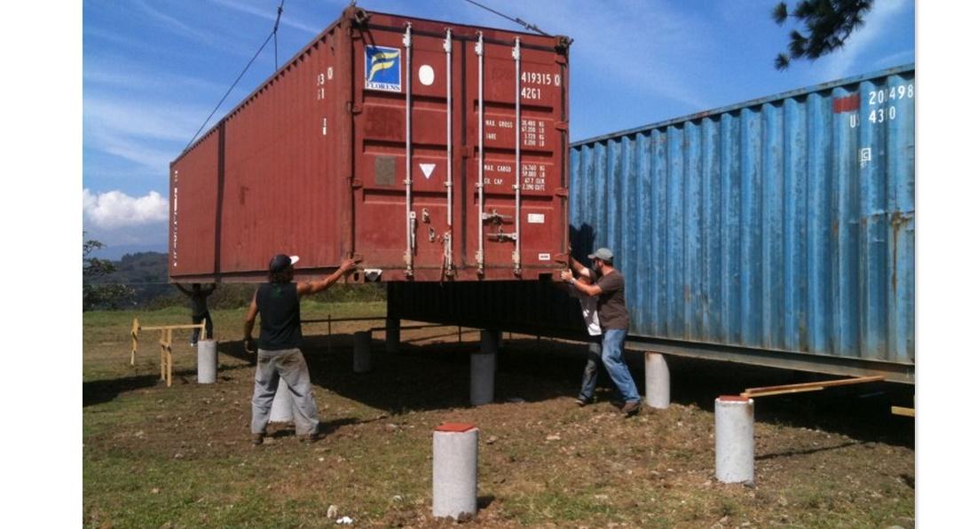 Construir una casa con contenedores - Como hacer una casa con contenedores maritimos ...