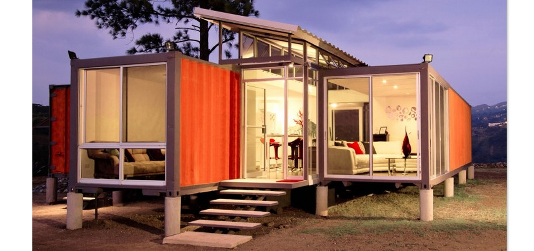 Contenedores planos de casas modernas - Casas hechas con contenedores precios ...