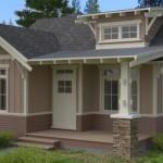 Plano de casa tradicional de un piso