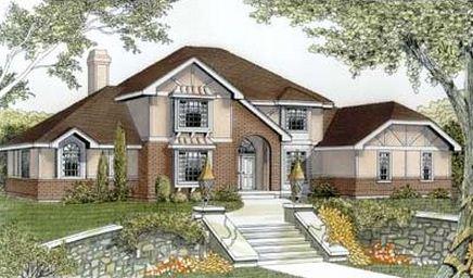 Fachadas de casas con espacios abiertos