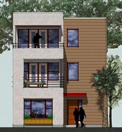 Planos de casas modernas de 3 pisos for Fachadas de casas de 3 pisos modernas