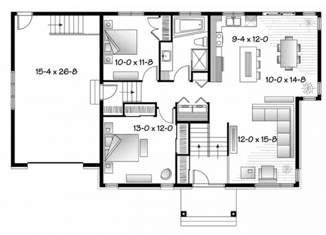 planos de casas pequenas y confortables