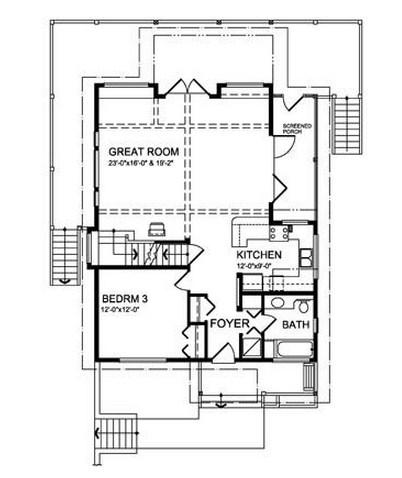 Plano de casa de madera de 2 pisos - Casas de madera de dos plantas ...