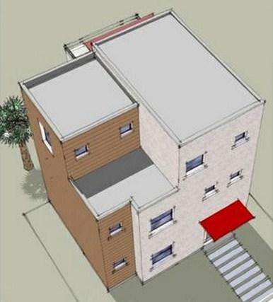 Planos de casas  de 3 pisos