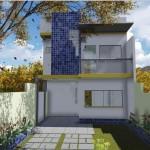 Planta arquitectónica de 2 pisos