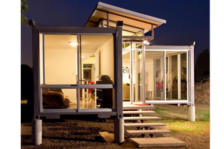 Conteiners planos de casas modernas for Viviendas modernas
