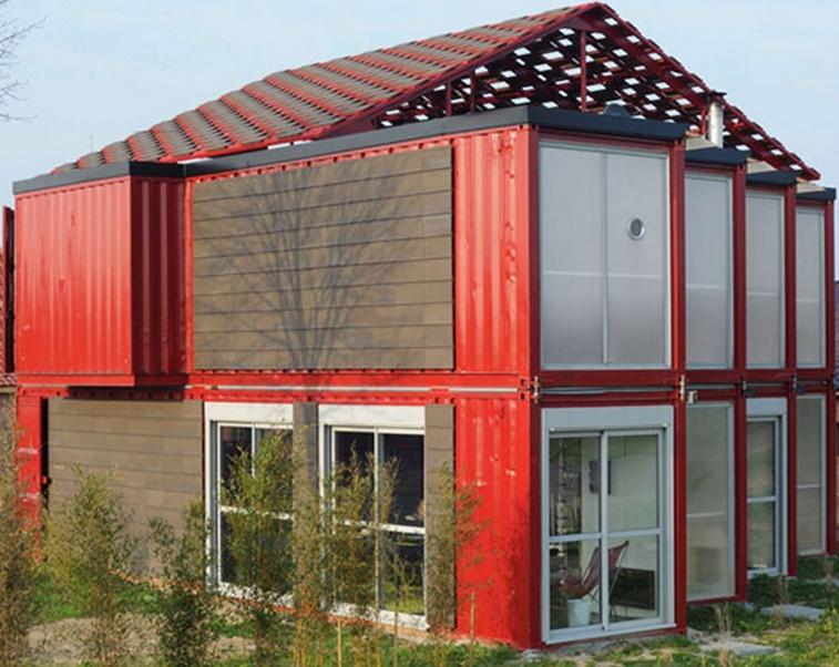 Construir una casa con contenedores for Casas de container modernas