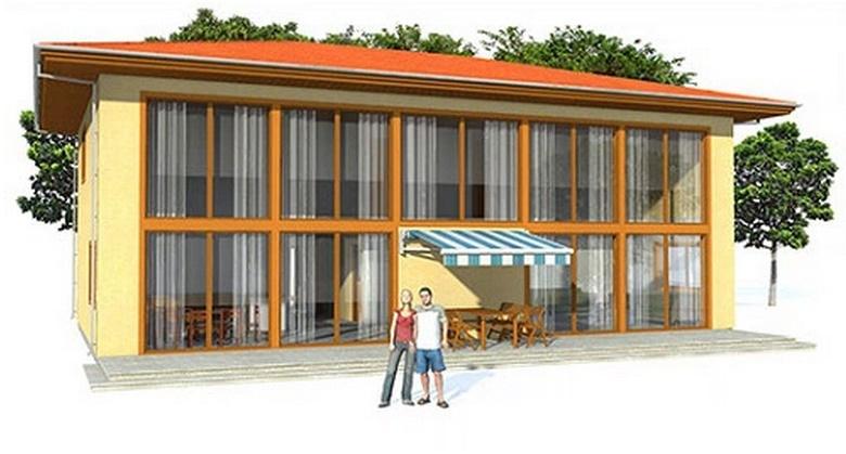 casa moderna de 200 metros