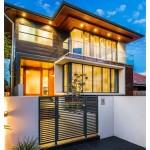 Selección de fachadas de casas