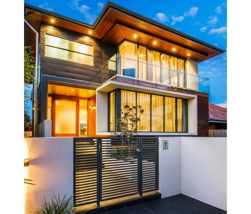 Fachadas de casas planos de casas modernas for Fachadas de ventanas para casas modernas