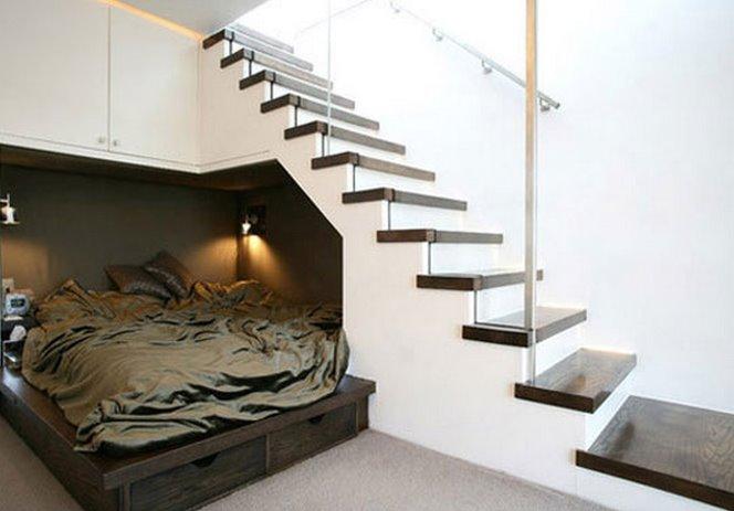 largo de una escalera