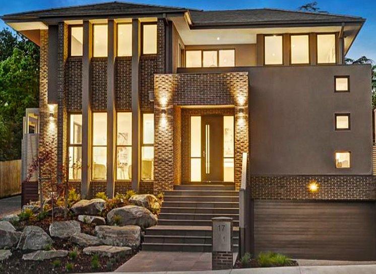 Fachadas de casas planos de casas modernas for Las mejores fachadas de las villas