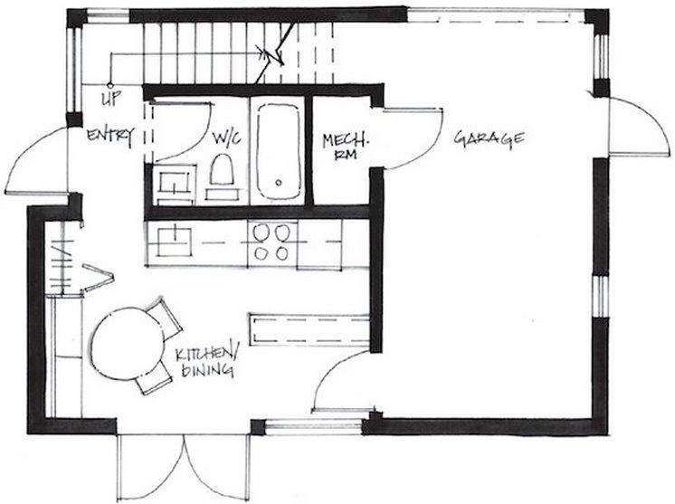Casa economica en 2 pisos - Casas unifamiliares planos ...