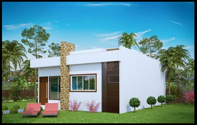 Casas peque as de 3 dormitorios for Ver modelos de dormitorios