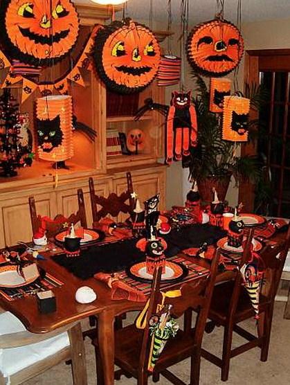 Como decorar la casa en Halloweenpara niños