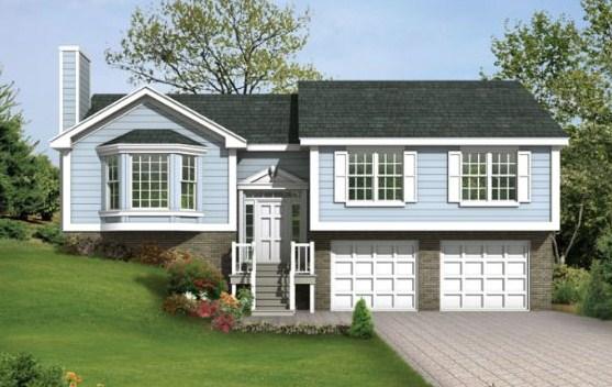 Planos de casas para terreno en desnivel for Fachadas de casas modernas a desnivel
