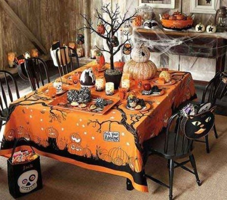 Como decorar la casa para halloween for Decoracion mesa halloween