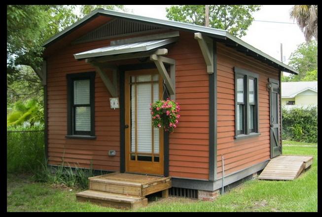 Plano de caba a peque a de un s lo ambiente Mini casas planos