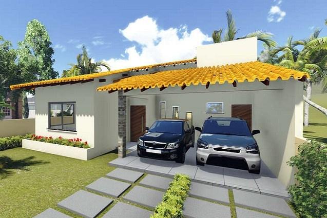 Plano de casa moderna y sencilla for Diseno de casa sencilla