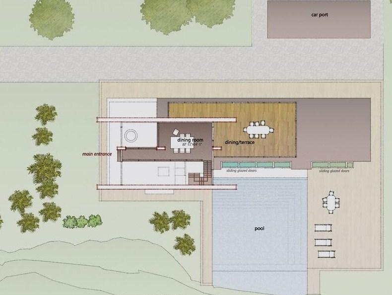 Planos de casas modernas para barrio privado