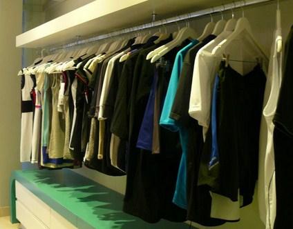 Vestidor con placas de yeso
