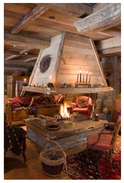 Chimeneas rusticas - Chimeneas para casas de madera ...