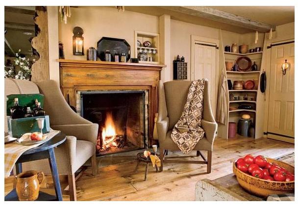 Chimenea planos de casas modernas - Revestimientos de chimeneas rusticas ...