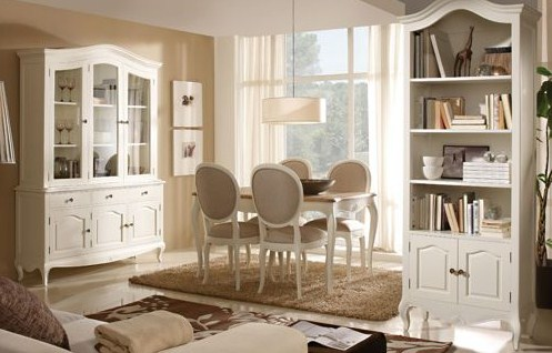 Comedores con estilo vintage for Muebles de comedor vintage