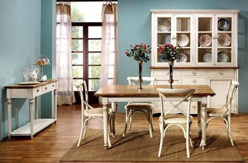 Comedores con estilo vintage - Muebles estilo antiguo ...
