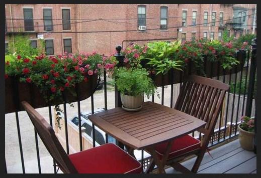 Como decorar un balcon con poco dinero